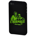 CUSTODIA IPHONE 4S I SOLITI IDIOTI E' NORMALE! HARD CASE PROMO