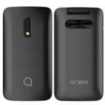 "ALCATEL 30.25X 2.8"" CLAMSHELL 3G METALLIC GRAY ITALIA"