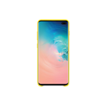SAMSUNG LEATHER COVER YELLOW GALAXY S10+